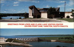 Greetings From Lewis and Clark Lake Visitor Center
