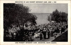 Dedication of Lake Poinsett Methodist Camp, June 1 1952