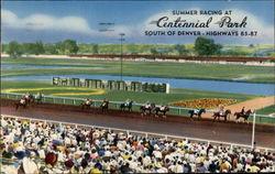 Summer Racing at Centennial Park