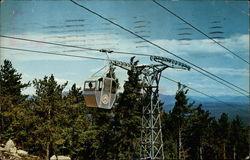 Gondola Approaching Summit - Mt. Whittier