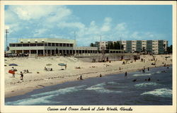 Casino and Ocean Beach at Lake Worth, Florida