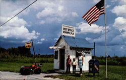 Smallest Post Office Building the U.S Postcard