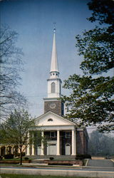 The Presbyterian Church of Madison, N.J Postcard