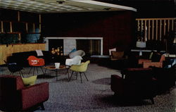 Officers' Club, Loring Air Force Base - Main Lounge