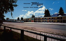 Revelstoke Travelodge Postcard