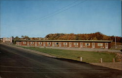 Parkview Motel & Restaurant Postcard