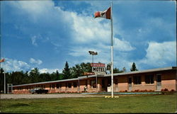 Nipigon River Motel Postcard
