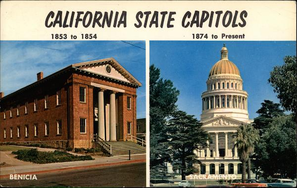 California State Capitol Buildings Benicia and Sacramento