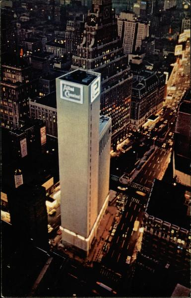 Allied Chemical Tower, #1 Times Square New York