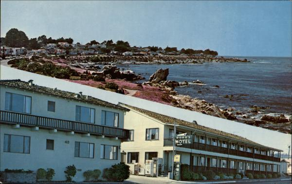 Borg's Ocean Front Motel Pacific Grove California