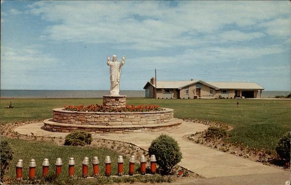 OSCODA,MICHIGAN-SACRED HEART SHRINE OF SACRED HEART CHURCH