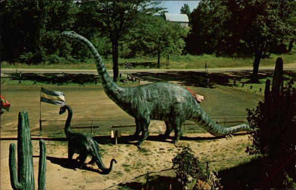 Prehistoric Forest Dinosaur Land In The Irish Hills Of