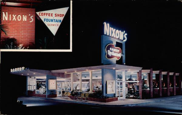 Nixons Coffee Mail: Nixon's Family Restaurant And Bakery Whittier, CA