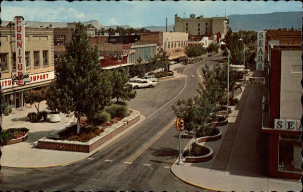 Main Street in Grand Junction, Colorado. Lots of