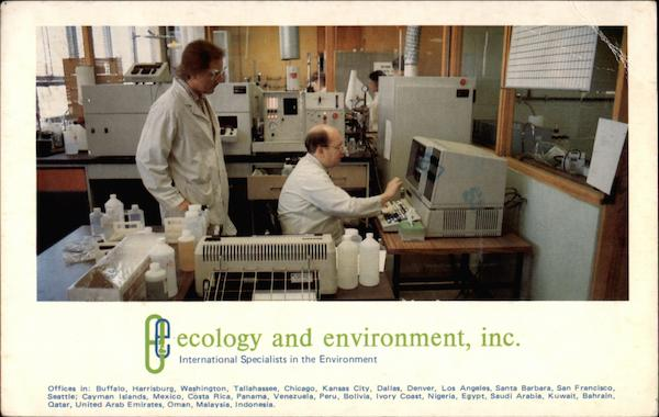 Ecology and Environment Inc Analytical Services Center Buffalo New York