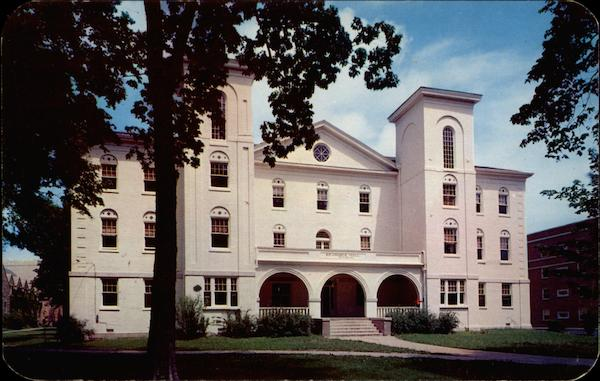 Brannock Hall, Central College Fayette Missouri