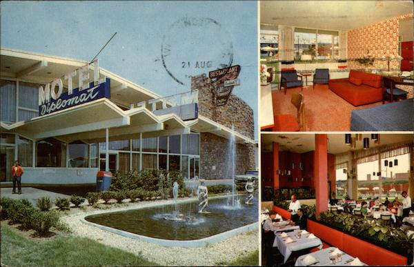 Diplomat Motor Hotel Washington District of Columbia