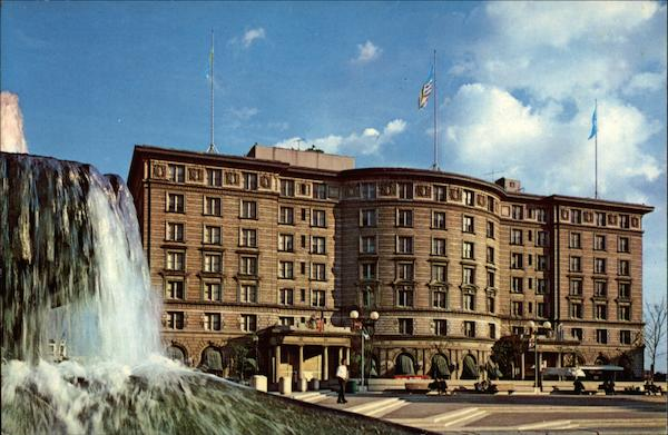 The sheraton plaza hotel in historic copley square boston ma for Historic hotels in boston