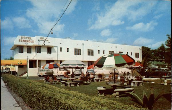 Hotel Seminole on Tamiami Trail Florida