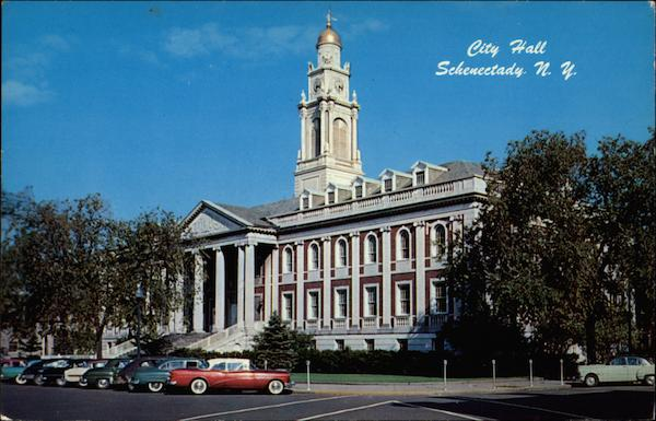 City Hall and Armory Schenectady New York