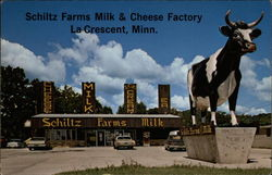 Schiltz Farms Milk & Cheese Factory Postcard