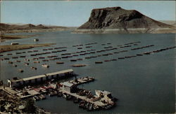Elephant Butte Lake and Boat House