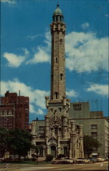 The Famed Water Tower Postcard