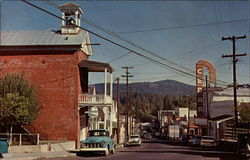 Beautiful Street View of Nevada City