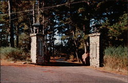 Gateway to beautiful Asilomar Conference Grounds