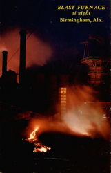 Blast Furnace at Night