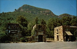 Entrance to Chimney Rock Park