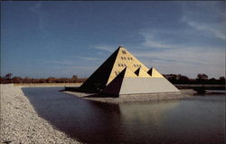 Gold Pyramid Museum Postcard