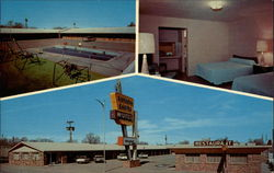 Sahara Sands Motel Postcard