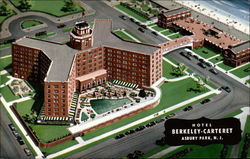 Hotel Berkeley-Carteret Postcard
