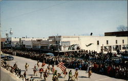 St. Patrick Day Parade Postcard