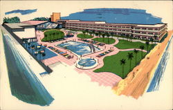 Aristocrat Luxury Resort Motel Postcard