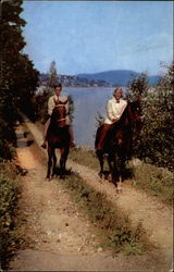 Lake-Side Horse Back Riding at Lake Mohawk