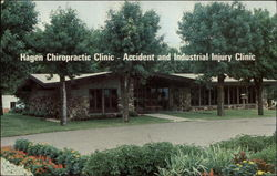 Hagen Chiropractic Clinic - Accident and Industrial Injury Clinic Postcard