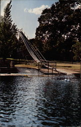 The 40 Feet High Slide into the Guadalupe River