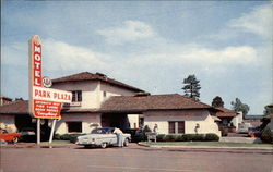 Park Plaza Motel Postcard