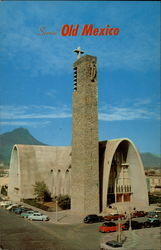 Modern Catholic CHurch Postcard
