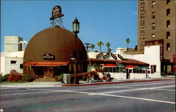 Brown Derby Restaurant Hollywood Ca