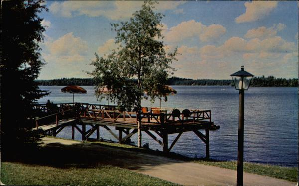 Sundeck at Pehrson Lodge On Lake Vermillion Cook Minnesota