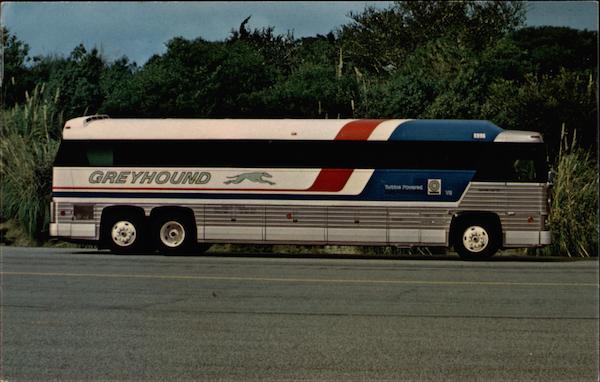 Greyhound Lines Americruiser Buses