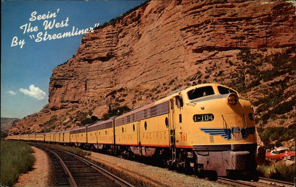 Seein' the West by Streamliner Trains, Railroad