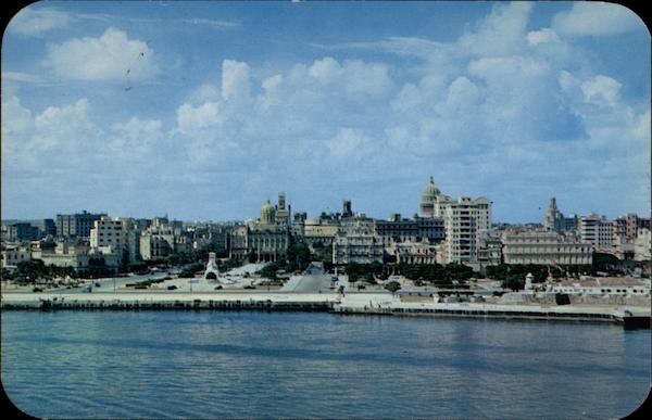 General view of Habana from the Morro Castle Cuba