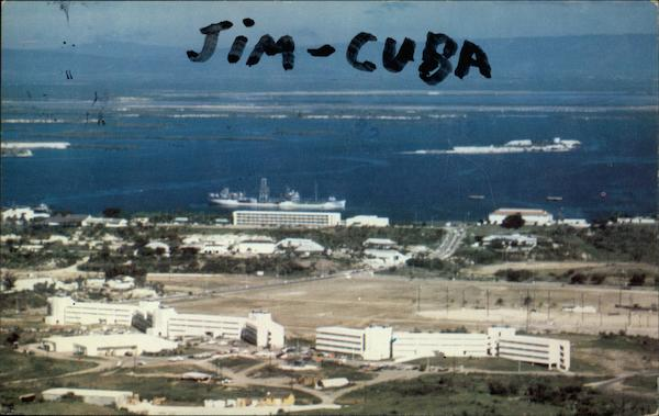 View from J. P. J. - John Paul Jones' Hill - U.S. Naval Base Guantanamo Bay Cuba
