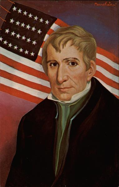 William Henry Harrison 9th U.S. President Presidents