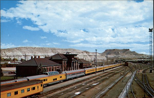 Union Pacific Streamliner Green River Wyoming Depots
