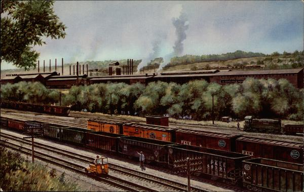 The Pittsburgh and Lake Erie Railroad Company Trains, Railroad